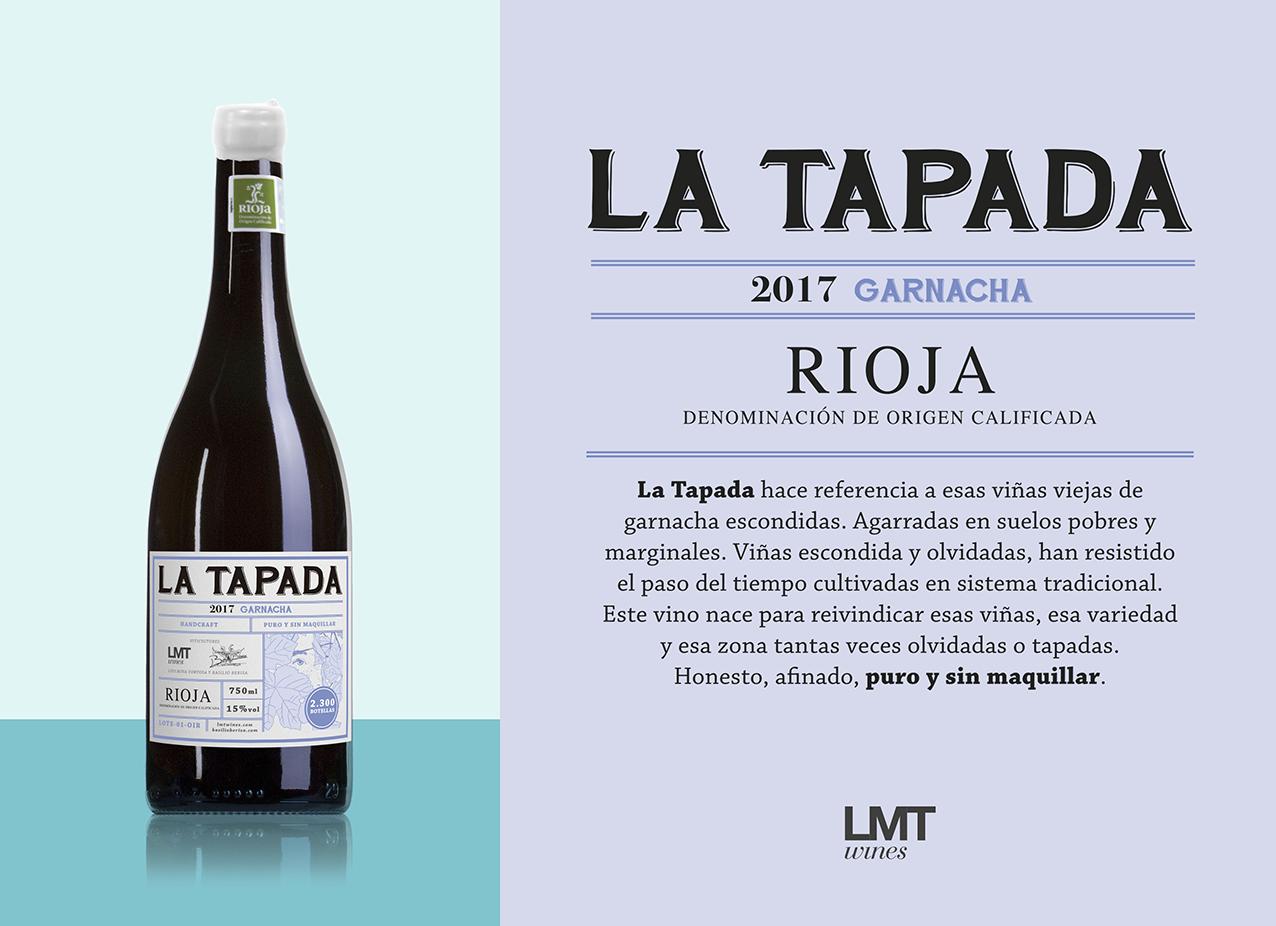 Etiqueta La Tapada para LMT Wines